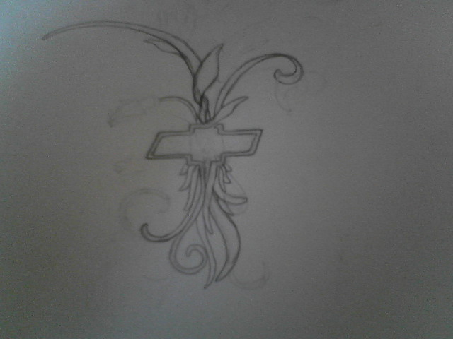Chevy tattoo design by nightmares19 on deviantart for Chevy bowtie tattoos