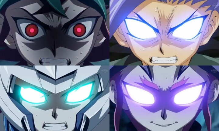 Yu Gi Oh Arc V All Yus Berserk Mode By Princegohan227 On