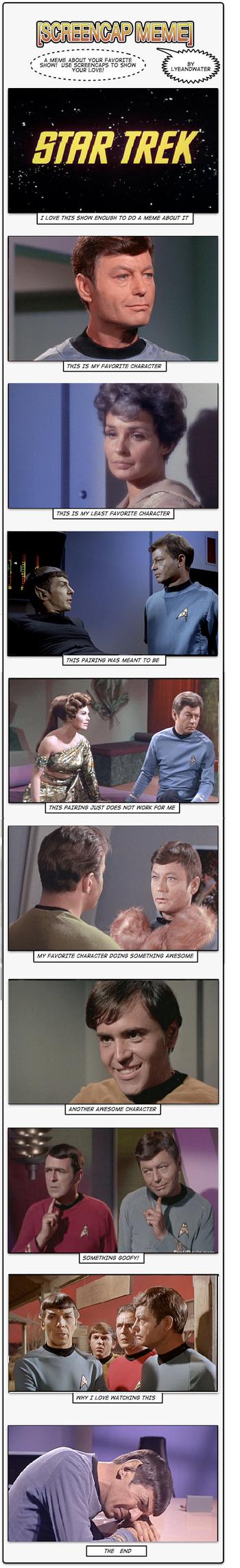 Star Trek Screencaps meme by YuriJojo