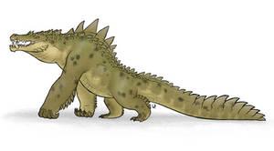 Crocodillus brutum