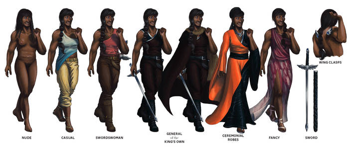 General Nimay: Character Reference
