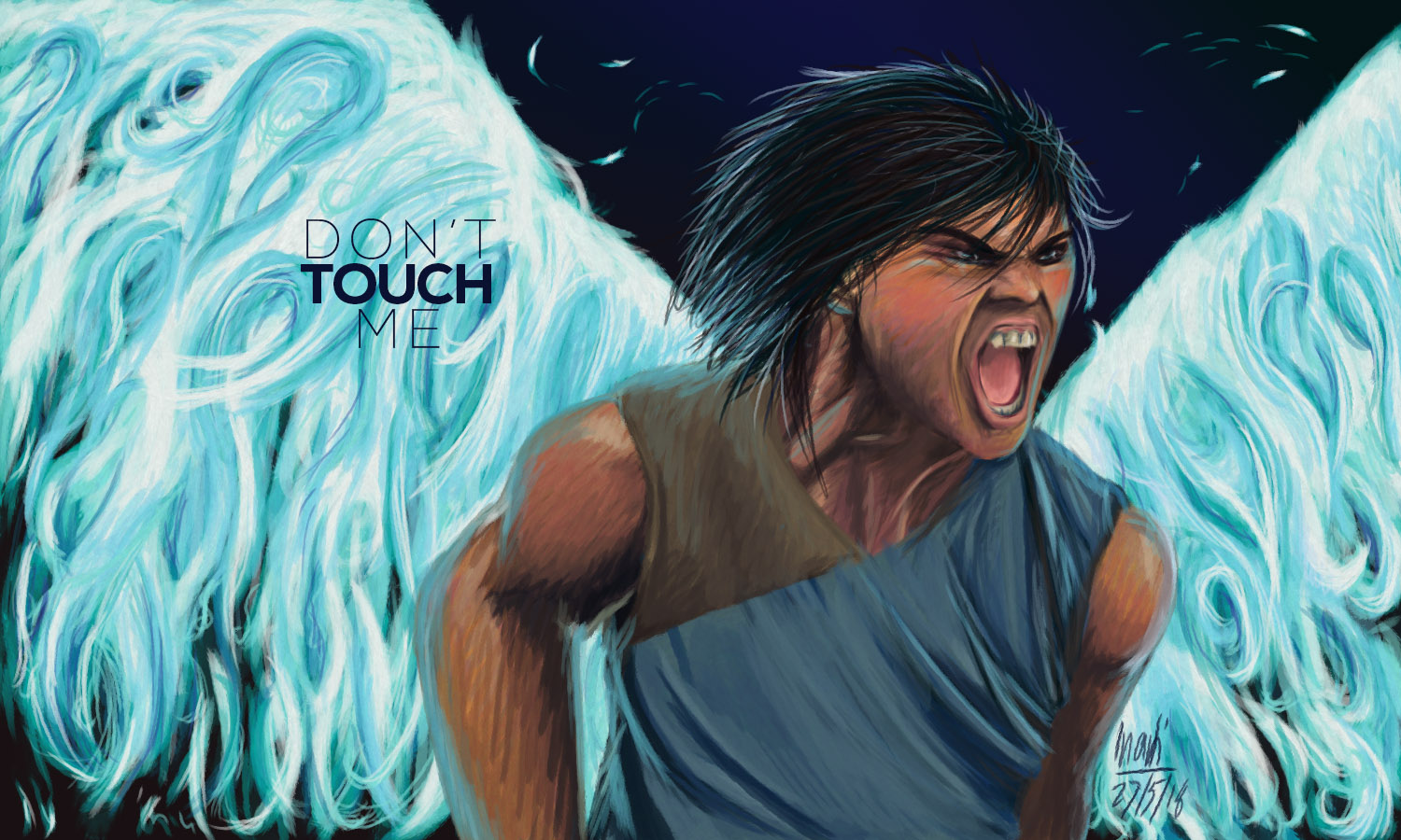 DON'T TOUCH ME by annarti