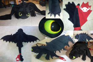 Toothless Plush 3.0 by Super3dcow