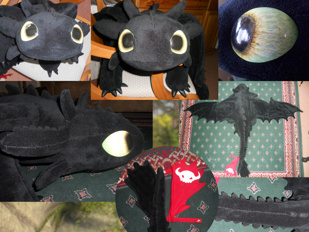 Toothless Plush #4: My plush! by Super3dcow