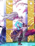 Yasuo_LOL (Spirit blossom fan art) 1/6