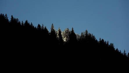 Oblique mountain by BananaImpact