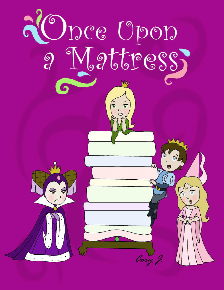 Once Upon A Mattress Poster By Cor104 On Deviantart