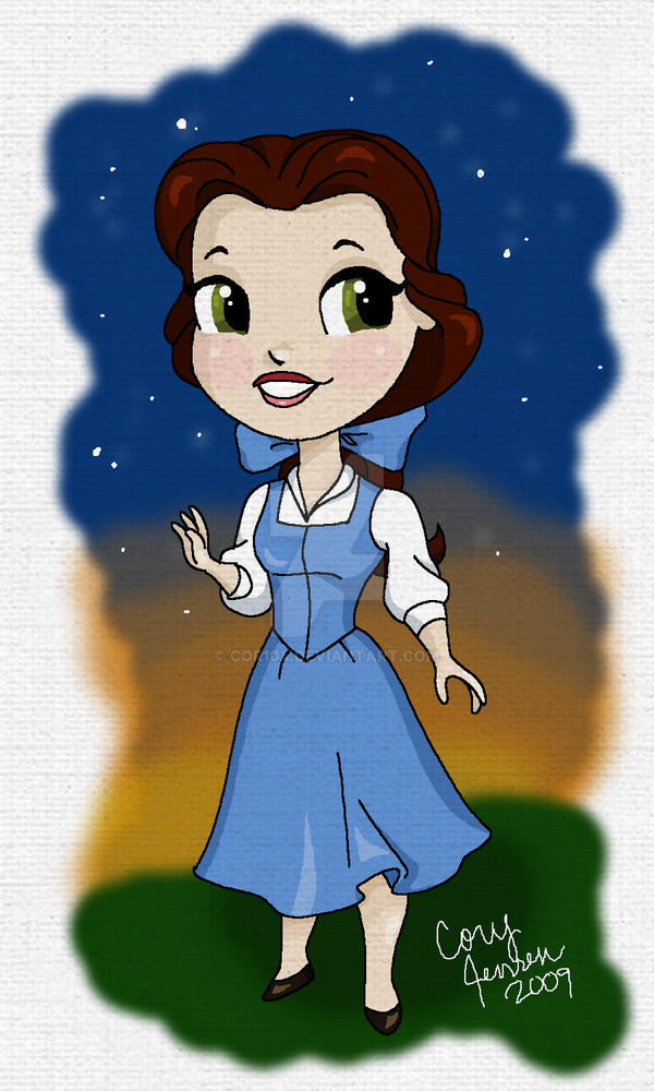 Chibi Belle by Cor104