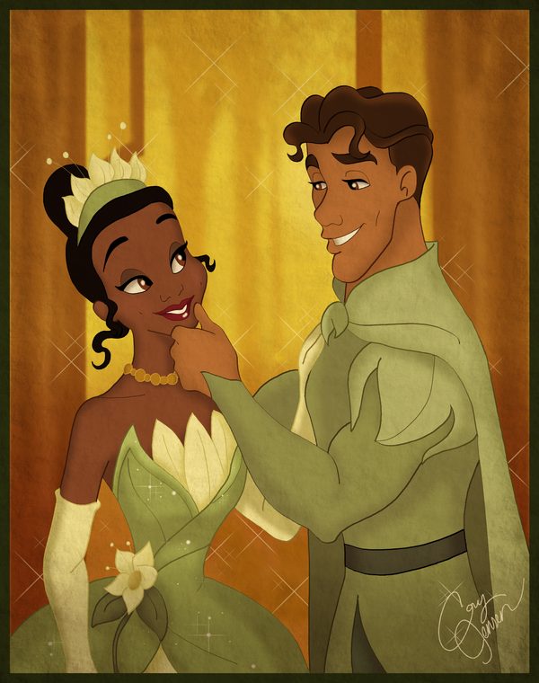 .:Tiana and Naveen:. by Cor104