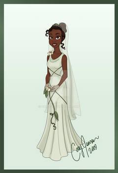 Tiana's Wedding Dress