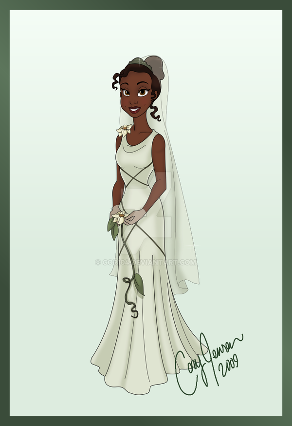 Tiana 39 s wedding dress by cor104 on deviantart for Princess tiana wedding dress