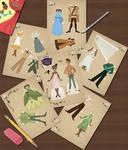 PatF Paper Dolls Collage