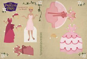 Retro Charlotte Paper Doll by Cor104