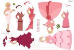 Charlotte Paper Doll
