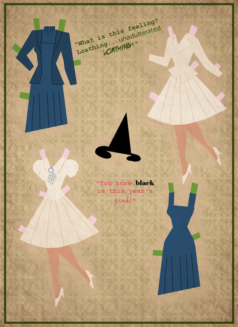 Wicked Paper Dolls- Pg. 2 by Cor104