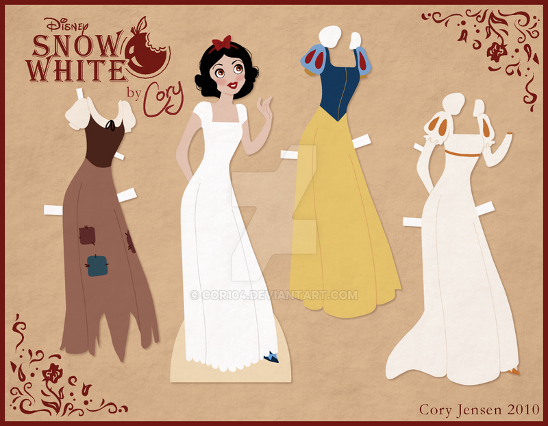 snow white paper My first upload showing the making of a disney inspired snow white doll made entirely from paper yes, this is what i do with my life play with strips of.