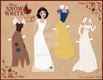 Snow White Paper Doll