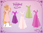 Rapunzel Paper Doll Version 2