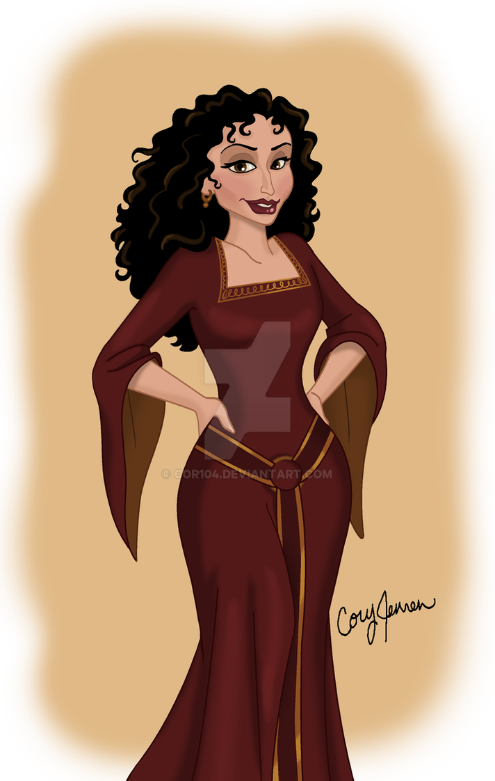 Mother Gothel...again by Cor104