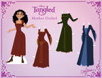 Mother Gothel Paper Doll