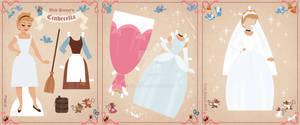Cinderella Paper Doll