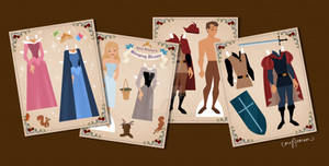 Sleeping Beauty Paper Dolls