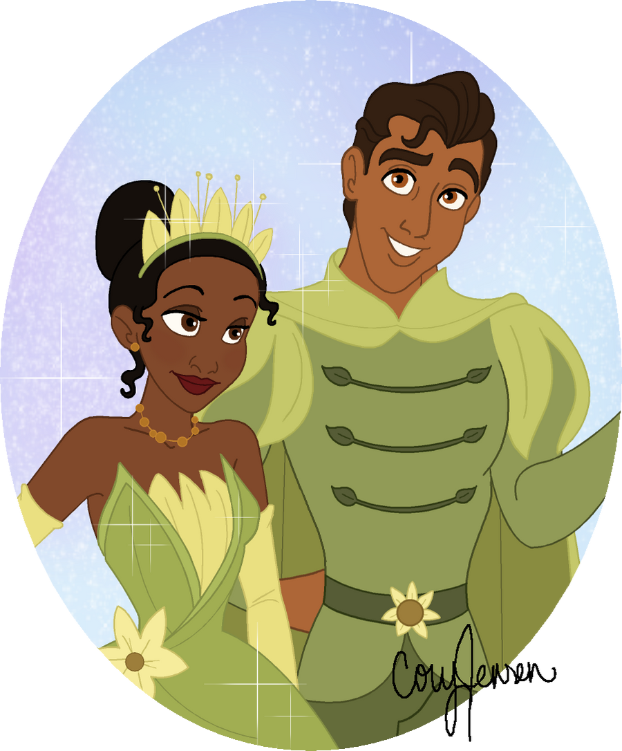 Tiana and Naveen Preview by Cor104