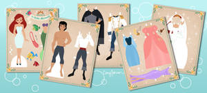 The Little Mermaid Paper Dolls
