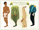 Prince Naveen Paper Doll