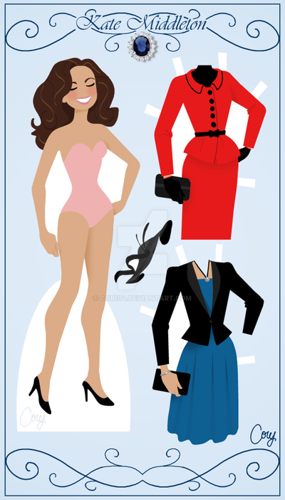 Kate Paper Doll Preview by Cor104