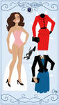 Kate Paper Doll Preview