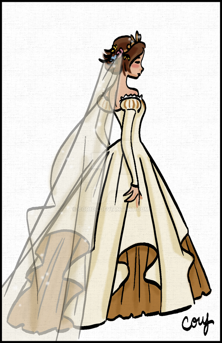 Rapz Wedding Dress Back by Cor104