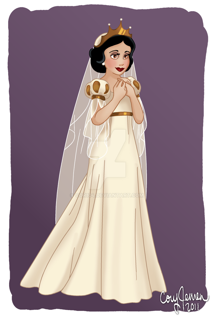 The Fairest Bride Of Them All by Cor104