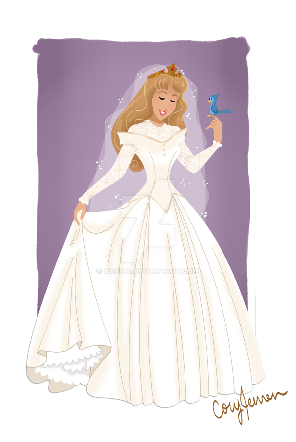 Aurora Wedding Gown by Cor104