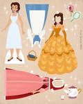 Belle Paper Doll Download