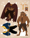 Beast Paper Doll Download