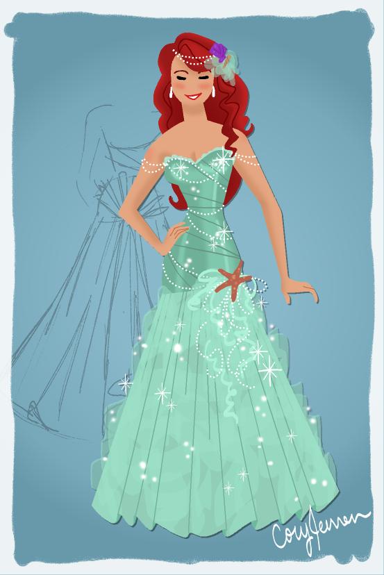 Ariel Dress Design by Cor104