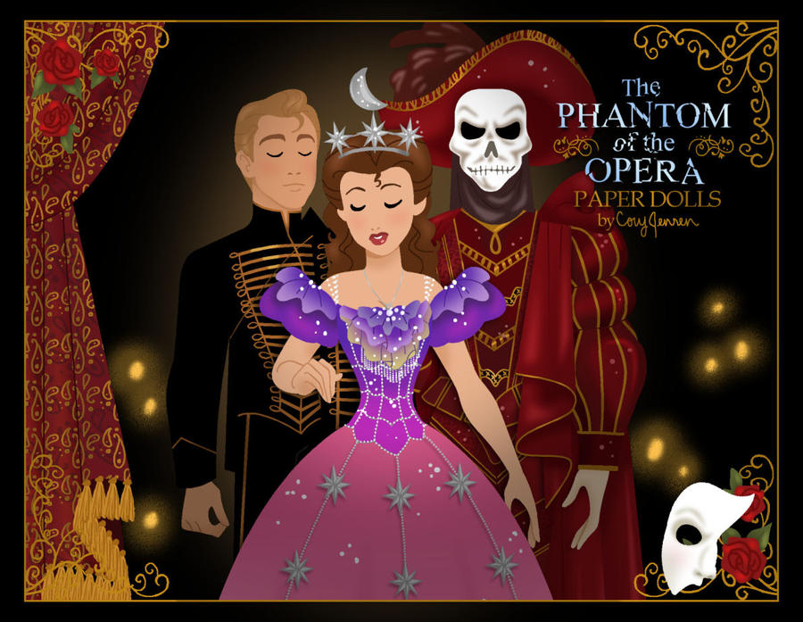New Phantom Paper Dolls by Cor104