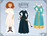 Merida Paper Doll by Cor104