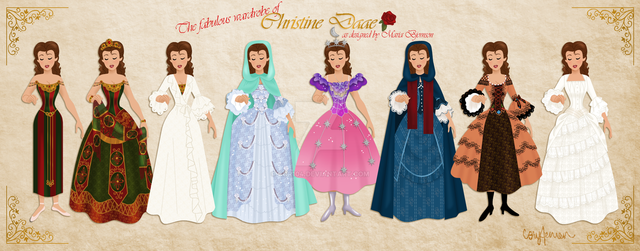 f73fabe3ab5de Christine Daae's Wardrobe by Cor104 on DeviantArt