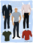 Anderson Cooper Paper Doll