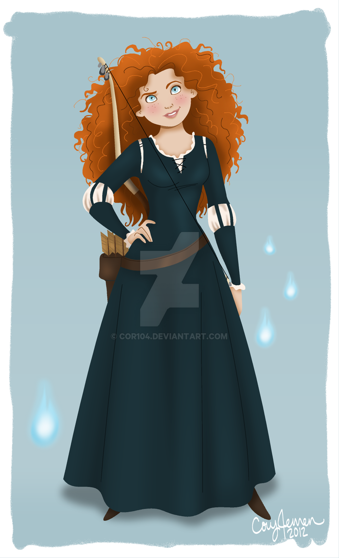 Merida by Cor104