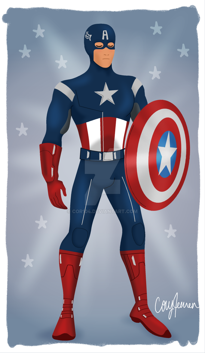 Good Old Fashioned Captain America by Cor104