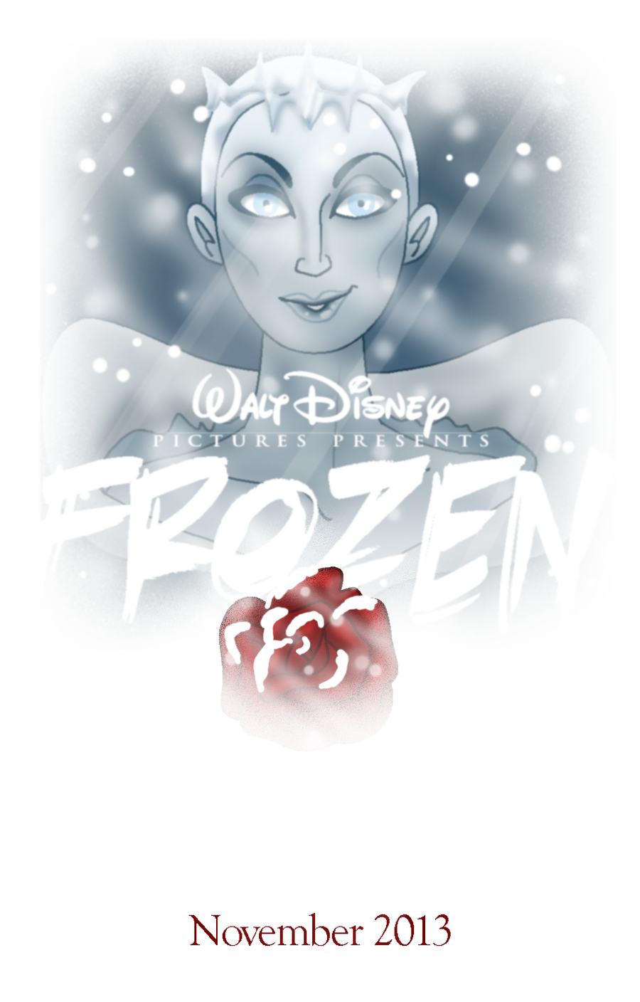Disney Frozen Fan Poster by Cor104