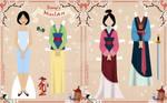 Mulan Paper Doll