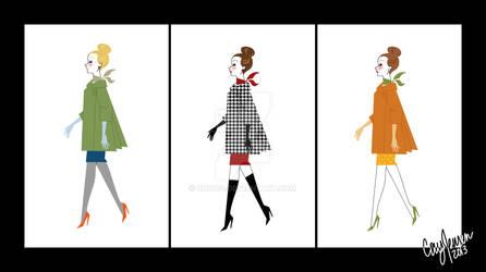 Retro Fashion Lineup