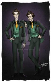 Designer Villains: Flotsam and Jetsam