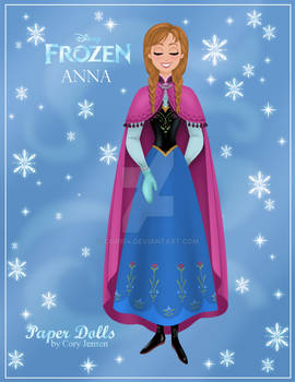 Anna Paper Doll Preview
