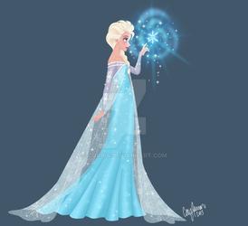 Elsa...and a snowflake