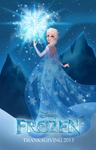 Frozen: Elsa Fan Poster